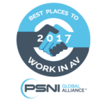 Neurilink recieves Best Places to Work in AV Award