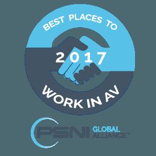 Neurilink recieves Best Places to Work in AV Award