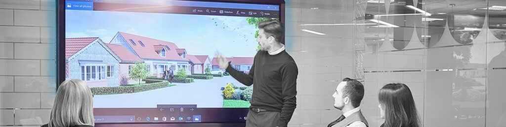 Interactive Display conference room AV