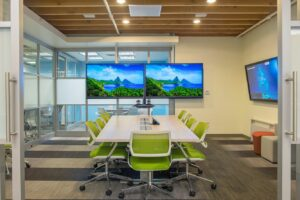 Conference room- video conferencing