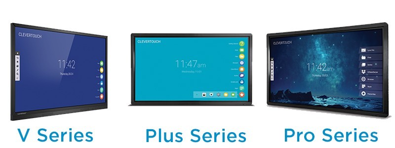 Clevertouch pro, plus, V series
