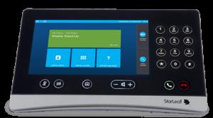 Skype for Business Interface on the StarLeaf platform