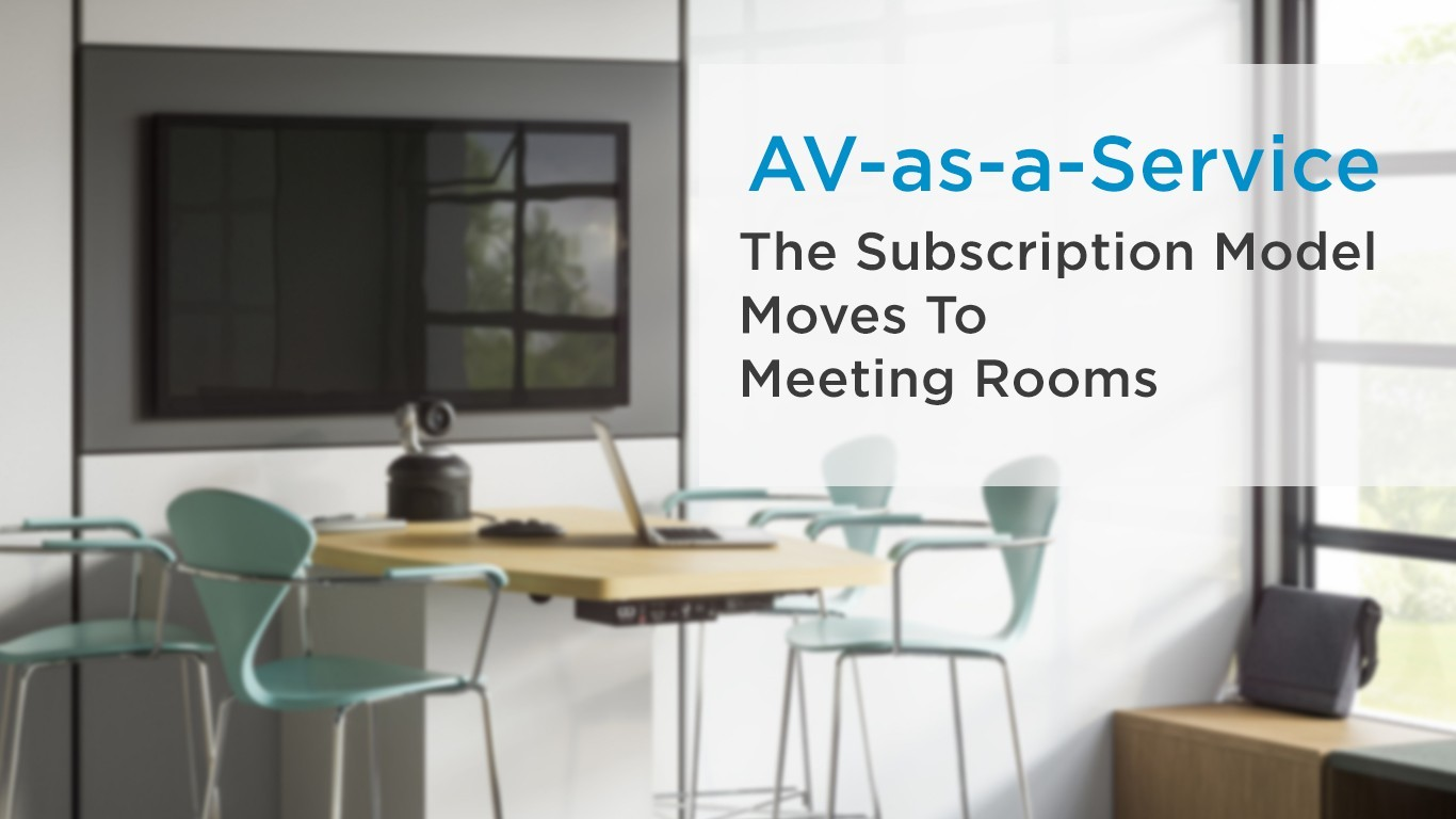 AVaaS for meeting rooms
