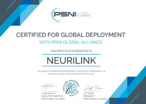 Neurilink PSNI Global Deployment Certification