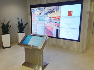 Kiosk and LCD Dispaly
