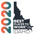 2020 Best places to work badge