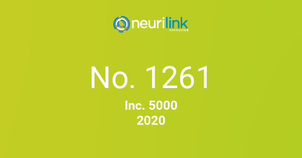 Neurilink No. 1261 Inc 5000 Company