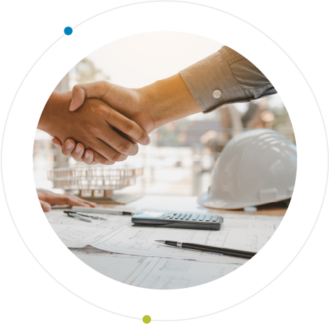 Construction Handshake 2