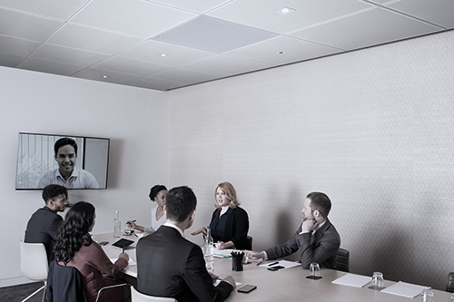 MXA910_With IntelliMix_Boardroom_Lifestyle_Grid-s